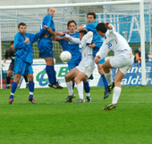 Tre espulsi e tre reti al passivo, giornata no del Prato contro il Lecce