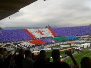 Fiorentina - Juventus (Coreografia Curva Fiesole, Stadio Franchi)