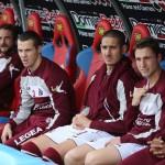 Belfodil e Mesbah in panchina Catania, il primo ha già esordito in maglia amaranto.