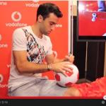 Giuseppe Rossi nuovo testimonial per Vodafone